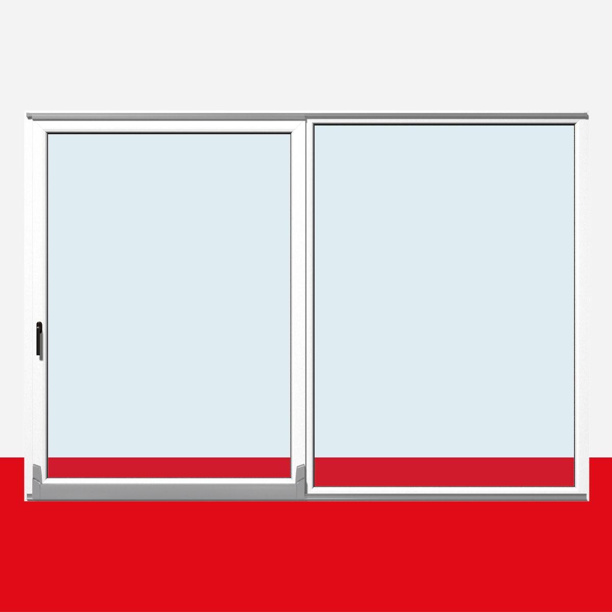 Schiebetür außen kunststoff  Parallel Schiebe Kipp Tür Schiebetür PSK Kunststoff Weiß Shop PSK ...