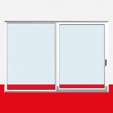 parallel schiebe kipp t r psk schiebet r balkont r kunststoff wei ebay. Black Bedroom Furniture Sets. Home Design Ideas