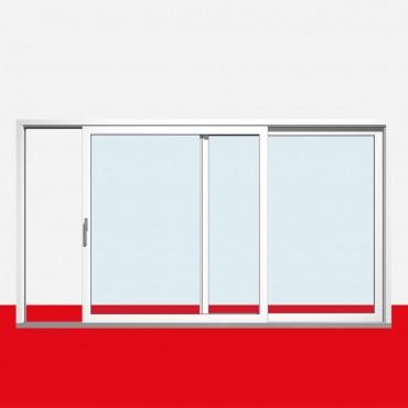hebe schiebet r t r kipp anthrazitgrau kunststoff terrassent r balkont r ebay. Black Bedroom Furniture Sets. Home Design Ideas