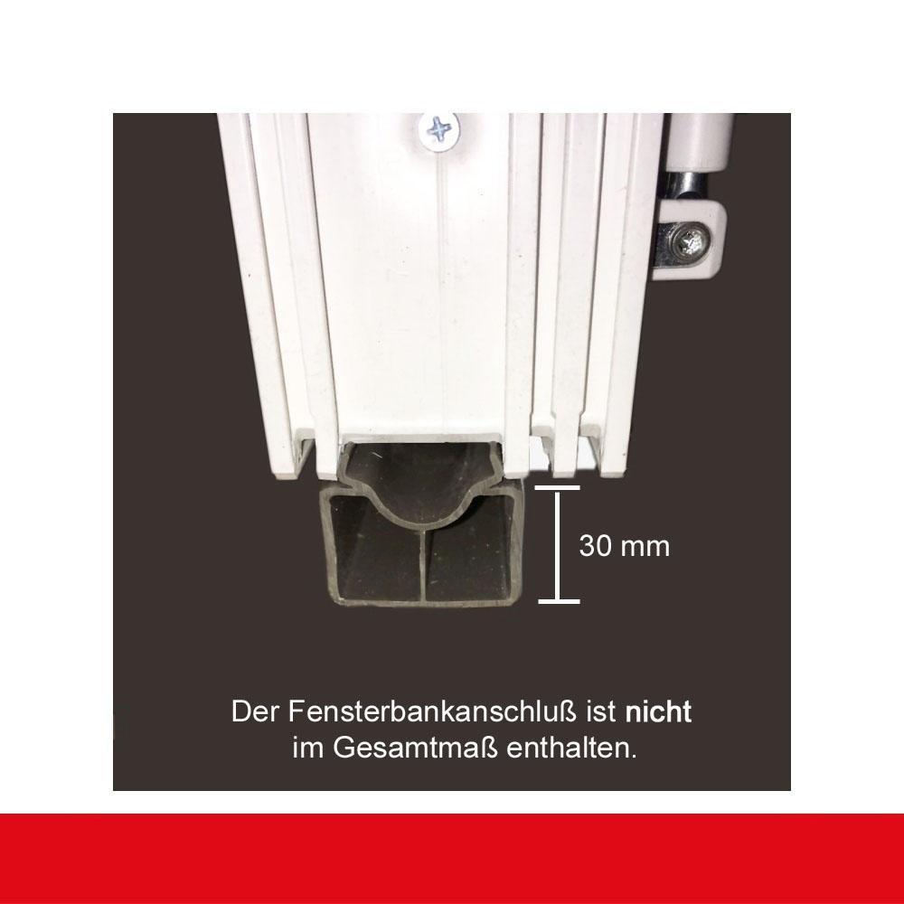 Hervorragend 2-flüglige Balkontür Kunststoff Pfosten Weiß Shop Balkontüren 2  GV99