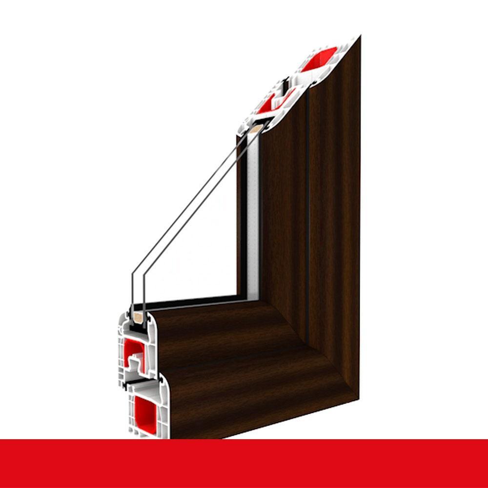 Super 1-flüglige Balkontür Kunststoff Dreh-Kipp Mahagoni Shop  OQ52