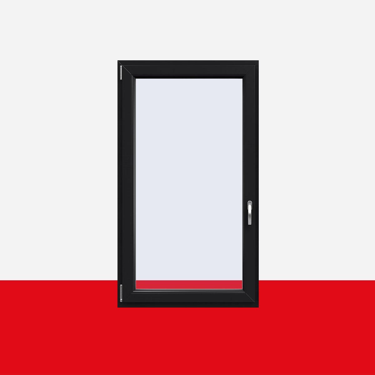kunststofffenster anthrazitgrau innen und au en dreh kipp fenster 1 flg shop fenster 1 flg. Black Bedroom Furniture Sets. Home Design Ideas