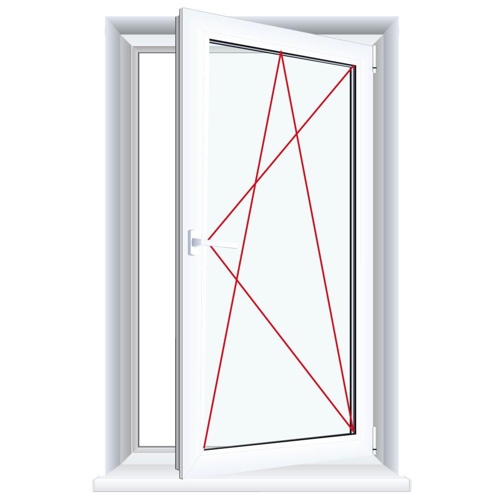 kunststofffenster mahagoni innen und au en dreh kipp fenster 1 flg shop fenster 1 flg dreh. Black Bedroom Furniture Sets. Home Design Ideas