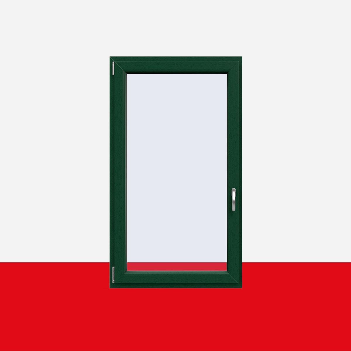 kunststofffenster moosgr n innen und au en dreh kipp. Black Bedroom Furniture Sets. Home Design Ideas