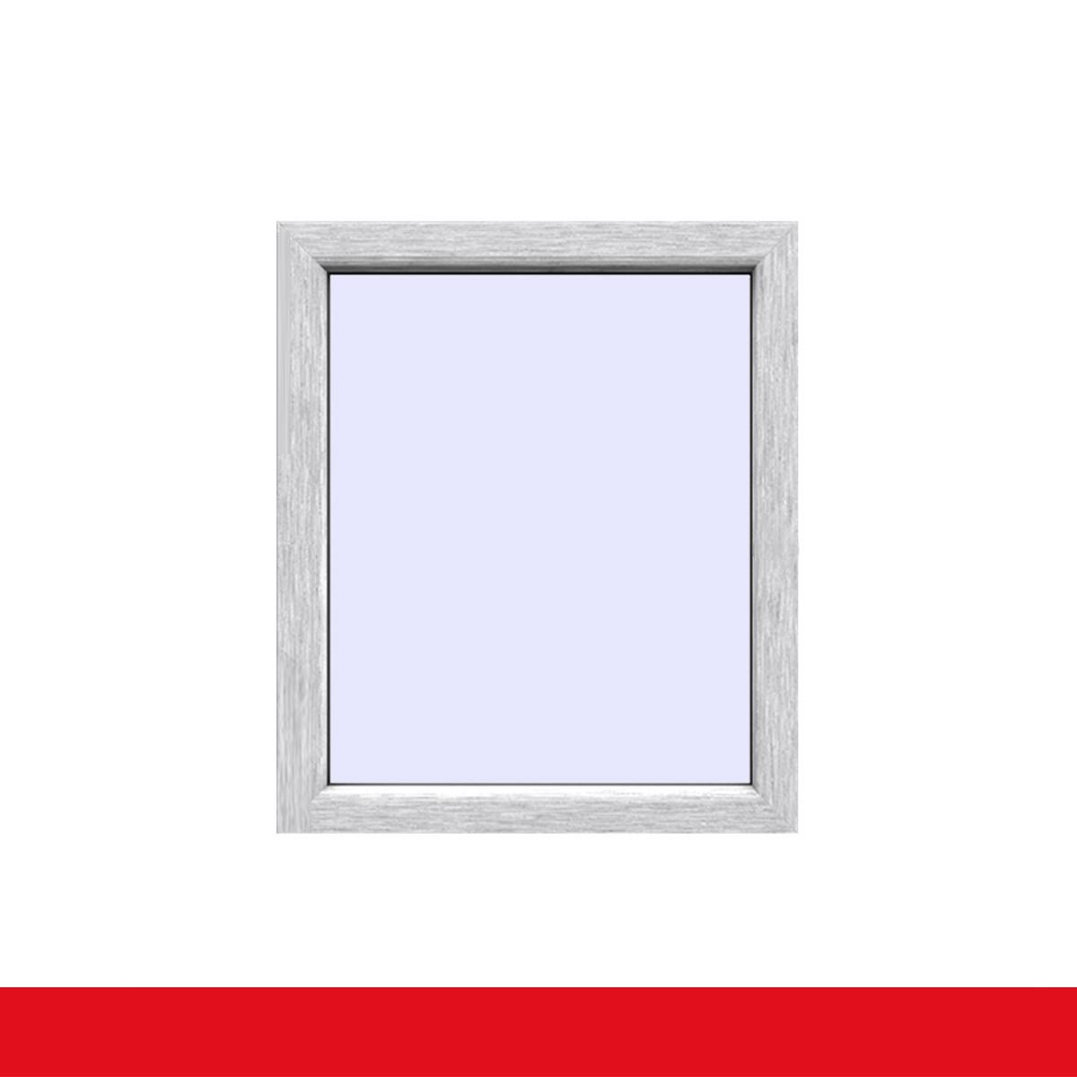 Festverglasung Fenster Aluminium Gebürstet beidseitig 1 flg. Fest im ...