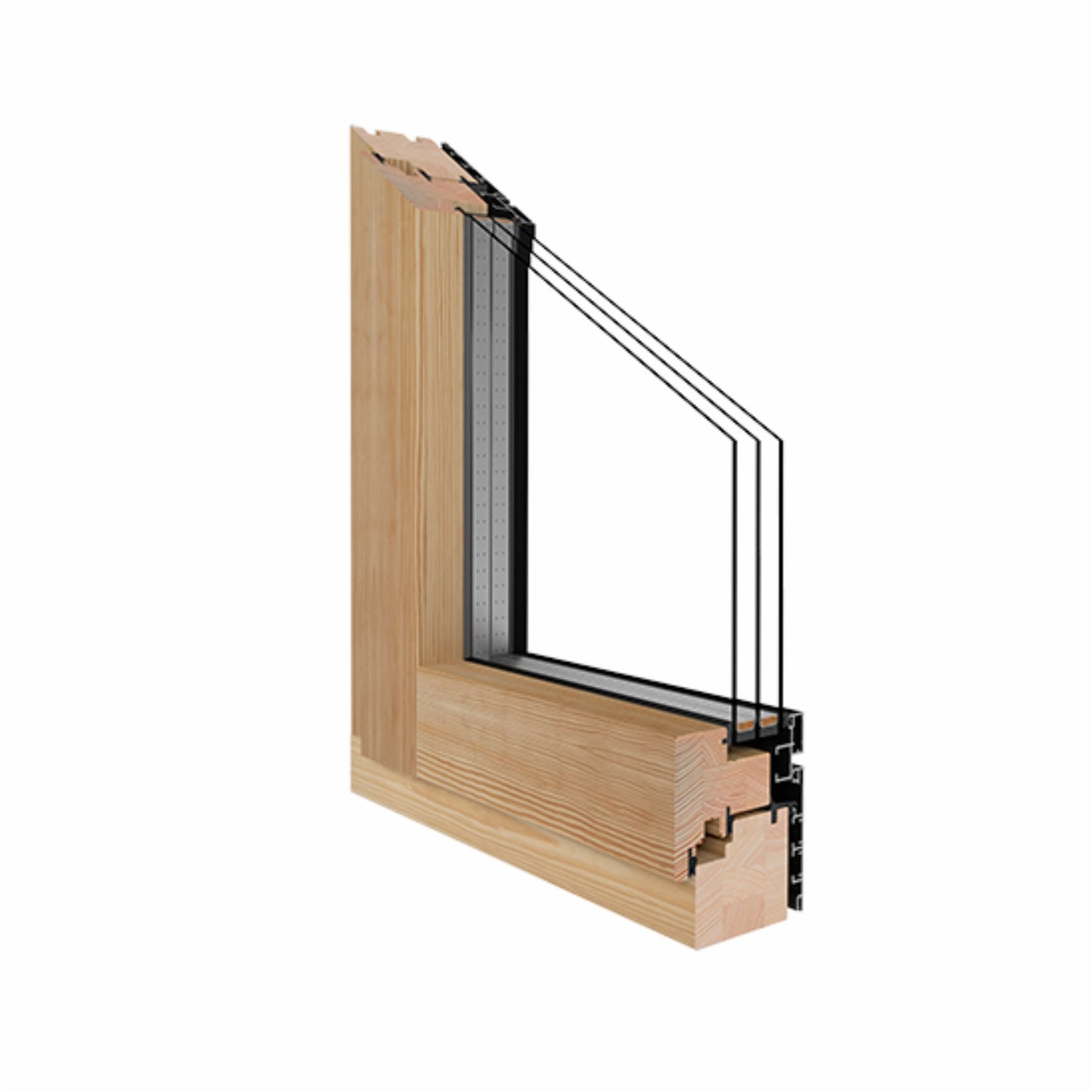 Holz alu fenster drutex duoline 78 kiefer fenster alle for Holz alu fenster hersteller