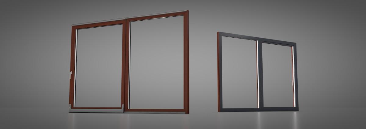 parallel schiebe kipp psk t r kunststoff. Black Bedroom Furniture Sets. Home Design Ideas