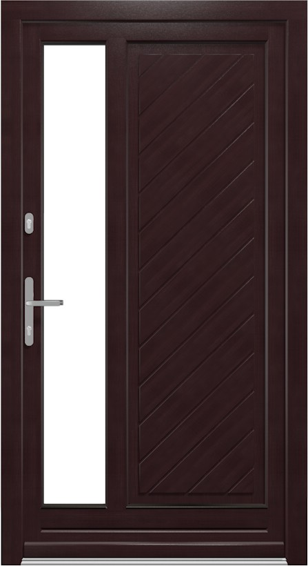 hochwertige nebeneingangst ren aus holz. Black Bedroom Furniture Sets. Home Design Ideas