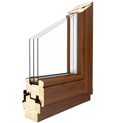 holzfenster softline fenster aus kiefer l rche und meranti. Black Bedroom Furniture Sets. Home Design Ideas